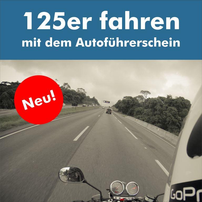 125er fahren mit dem Autoführerschein